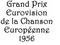 Logo des Eurovision Song Contest 1956