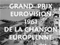 Logo des Eurovision Song Contest 1961