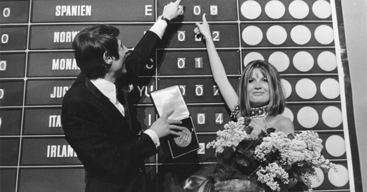 A Song for Europe 1967: Barfuß im Regen
