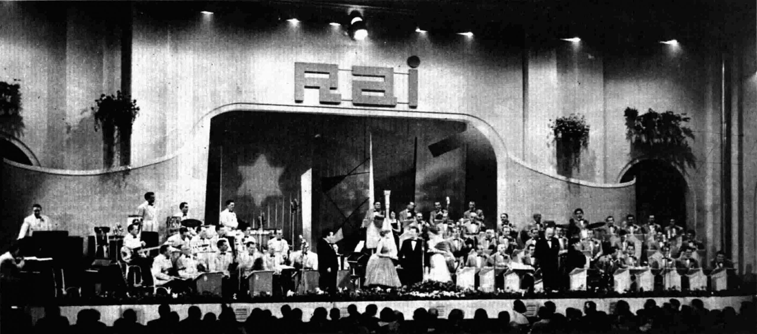 San-Remo-Festival 1957: Kein Entkommen