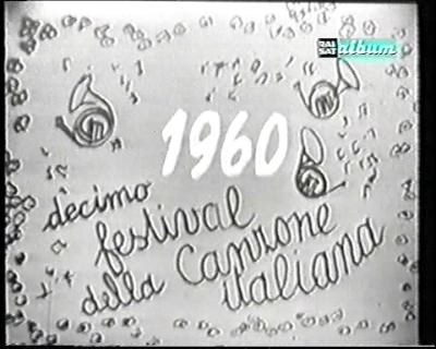 San-Remo-Festival 1960: Love is the Drug
