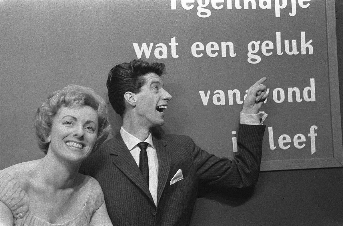 Niederländischer Vorentscheid 1963: Die Spieldose steht still, wenn Dein starker Arm es will