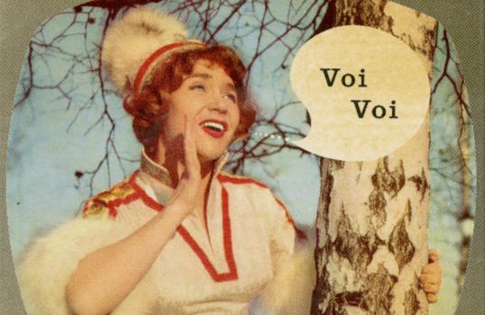 Melodi Grand Prix 1963: Blondine in Fesseln