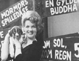 Melodi Grand Prix 1962: Auf den Hund gekommen