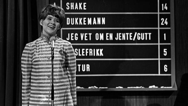 Melodi Grand Prix 1967: Hey, Mr. Tambourine Man!